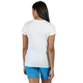 Regatta Fingal V Camiseta Mujer, blanco